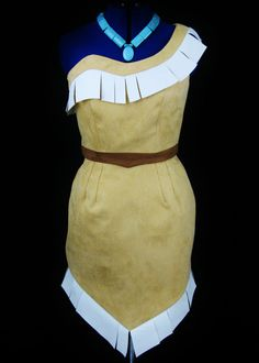 Pocahontas Custom Costume by NeverbugCreations on Etsy