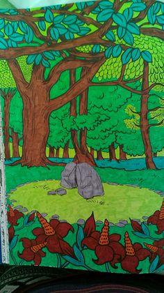 Mandala  Au fond des bois by Charlie-Audern