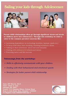 Sailing Through Adolescence , a workshop, educational in mumbai | Hook2events.com
