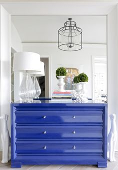 Blue and white- Laquer Love from Lori Paranjape- Nashville-