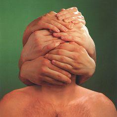 "Storm Thorgerson for Peter Gabriel's ""Hands"""