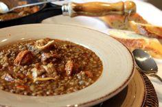 Receta tradicional de lentejas con chorizo - El Aderezo - Blog de Recetas de Cocina