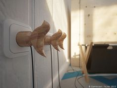Marina's birds by Fajno , via Behance