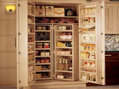 If you are looking for kitchen pantry cabinet design ideas you've come to the right place. We have 20 images about kitchen pantry cabinet design ideas Tall Kitchen Pantry Cabinet, Kitchen Pantry Design, Kitchen Storage, New Kitchen, Kitchen Decor, Kitchen Cabinets, Kitchen Ideas, Country Kitchen, Cupboard Storage