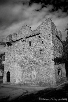 The second of two remaining Century Norman Tower Houses that remain in Dalkey. located directly across the Road from Goat Castle. Tower House, Heritage Center, 15th Century, Dublin, Norman, Goat, Mount Rushmore, Ireland, Castle