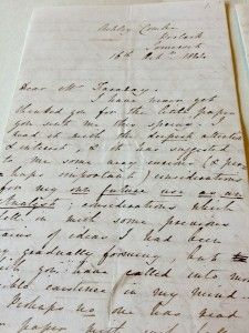 Ada Lovelace's letters to Michael Faraday