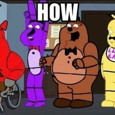 Fnaf Drawings, Sister Location, Going Insane, Fresh Memes, Cursed Images, Stupid Memes, Mood Pics, Funny Laugh, Reaction Pictures