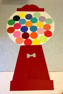 ~ Marilyn's Crafts ~: Gum Ball Name Chart