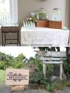 Coromandel wedding by Robert Trathen and Lovely Like You