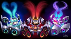 Surrender at 20: Red Post Collection: , Chibi DJ Sona all three forms fan art