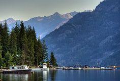 Lake Chelan, Montanhas Cascade, Stehekin