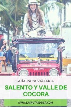 Salento es un pueblo del eje cafetero de Colombia ubicado en el departamento del Quindío, es conocido por sus hermosas casas coloniales coloridas y porque desde aquí se visita el famoso Valle de Cocora. Aquí te muestro que hacer, como llegar y donde dormir. Historical Pictures, Things To Do, Around The Worlds, Instagram, Traveling, Blog, Things To Make, Historical Photos, Viajes