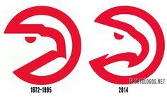 Atlanta Hawks Logo Compare