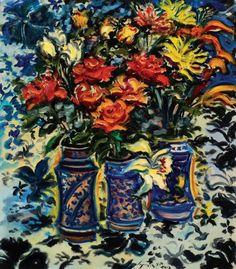 Firenze Galeria de Arte Sérgio Telles Vasos de flores - ost 83 x 74