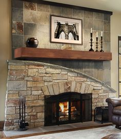820 Heart Pine Autumn Beam Donny Osmond Home Heritage Series Rustic Fireplace Mantle, Fireplace Shelves, Mantel Shelf, Fireplace Design, Fireplace Ideas, Reface Fireplace, Fireplace Update, Mantle Ideas, Floating Mantel