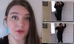 Teenager with cerebral palsy shows off her love of dancing with video