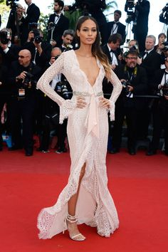 Best Dressed at The 66th Annual Cannes International Film Festival: Joan Smalls in Emilio Pucci