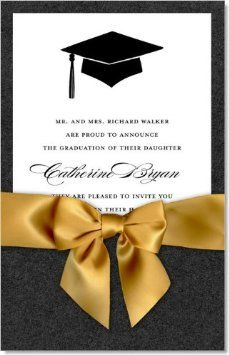 10 best sample graduation invitation images on pinterest amazon ib designs graduation cap pocket invitations tip of the hat black filmwisefo