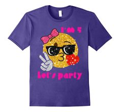 Check this Kids Birthday emoji shirt Purple-Newstyleth . Hight quality products with perfect design is available in a spectrum of colors and sizes, and many different types of shirts! Birthday Emoji, 15th Birthday, Birthday Shirts, Girl Birthday, Birthday Outfits, Emoji Shirt, T Shirt, Shirts For Girls, Cute Gifts