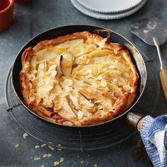 Zo heb je nog nooit een taart gemaakt: uit de pan. #peer #recept #JumboSupermarkten