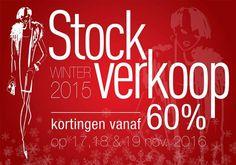 Stockverkoop van Brax, Paradisier en Mayerline -- Genk -- 17/11-19/11