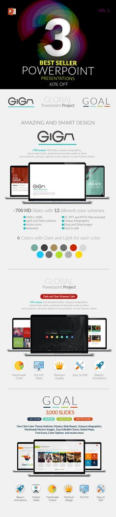 3 Powerpoint Templates Pack. Download here: http://graphicriver.net/item/3-powerpoint-templates-pack/14747595?ref=ksioks