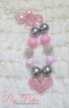 My Sweet Valentine Chunky Necklace