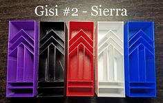 3D printed pen blank for casting faux Gisi style blank for