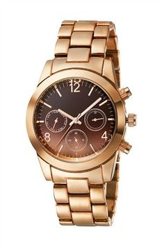 Buy Rose Gold Working Multi Dial Sports Watch from the Next UK online shop