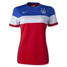 USA 2014 Women's Away Soccer Jersey - The Official FIFA Online Store #JustOrderedMine