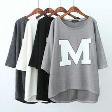 Xlj32 moda mujer ropa gris impresión de la letra de la calle deporte camisetas frescas O neckShort manga de la camisa para mujer marca casual top(China (Mainland))