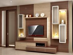 ideas living room tv wall ideas tv decor tv frames for 2019 Tv Unit Decor, Tv Wall Decor, Tv Cabinet Design, Tv Wall Design, Tv Unit Furniture Design, Tv Wanddekor, Modern Tv Wall Units, Modern Tv Cabinet, Living Room Tv Unit Designs