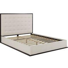 Modway Madeline Upholstered Platform Bed - Queen Ivory - MOD-5499-CAP-IVO