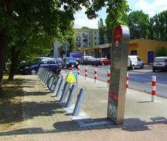 Veturilo  ul. Sanocka - Pruszkowska http://www.veturilo.waw.pl/lokalizacje/