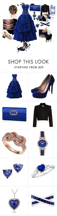 """#75"" by vtamane ❤ liked on Polyvore featuring Nicholas Kirkwood, Roger Vivier, Michael Kors, Effy Jewelry, Holly Dyment and Icz Stonez"