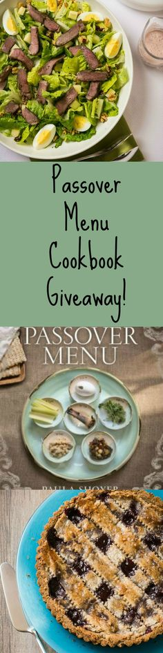 Passover Menu by Paula Shoyer Cookbook Giveaway !