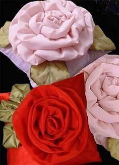 rosas de tela - Buscar con Google