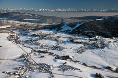 The Jura Mountains, a Cross-Country Wonderland - Jura Mountains - Straddling the border of France and Switzerland, the area boasts a network of more than 2,100 miles of groomed cross-country ski trails.