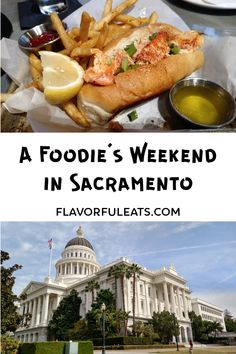 A Foodie's Weekend in Sacramento - Flavorful Eats Travel With Kids, Family Travel, Sacramento Food, Beach Trip, Beach Travel, Us Travel Destinations, Travel Scrapbook, Ultimate Travel, Budget Travel