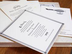 Ephemera Letterpress Wedding Invitations