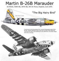 "Martin B-26B Marauder ""The Big Hairy Bird"""
