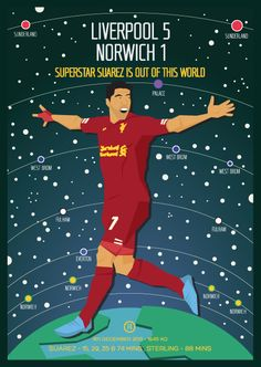 Suarez in another galaxy to most players Best Football Team, Liverpool Football Club, Liverpool Fc, Premier League Soccer, Premier League Champions, Dave Williams, West Brom, You'll Never Walk Alone, English Premier League