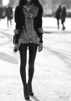 beautiful, girl, alternative fashion