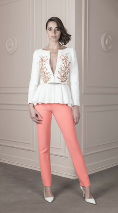 Spring / Summer 2016 | João Rolo Keep It Classy, Spring Summer 2016, Girl Boss, White Jeans, Glamour, Chic, Stylish, Blouse, Womens Fashion