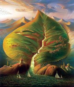 Natural Forms Vladimir Kush