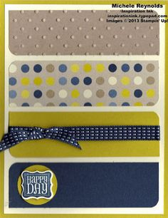 Ciao, Baby! Spots and Dots Happy Day by Michelerey - Cards and Paper Crafts at Splitcoaststampers
