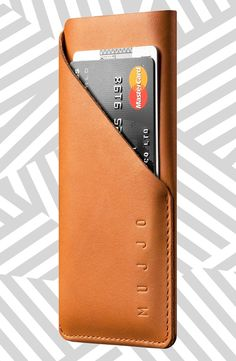 iPhone 6 Leather Wallet Sleeve