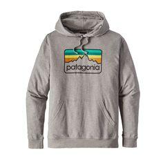 5ae2762f5ce4 Patagonia Men s Line Logo Badge Lightweight Hoody  hoodie Patagonia Hoodie