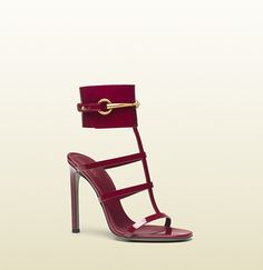 I'm drooling over here.  patent leather ankle-strap sandal