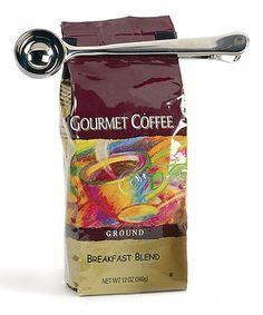 Loving this Coffee Scoop Clip on #zulily! #zulilyfinds